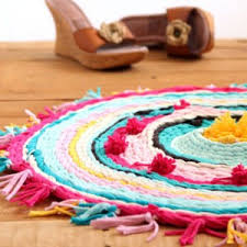 How To Make A Rag Rug From T Shirts Make Rag Rug From Old T Shirts Hula Hoop Hula And Tutorials