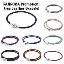 leather bracelet price images Shipsfromus free pandora leather bracelet promotion jpg