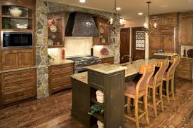 rustic modern kitchen design rustic contemporary kitchen design white wooden stools cream color