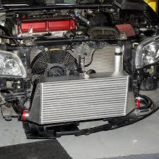 mitsubishi evo 7 mitsubishi evo 7 8 front mount intercooler u2013 hyperflow exhaust