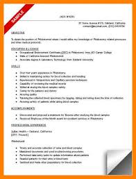 Sample Childcare Resume by 6 Phlebotomy Resume Childcare Resume