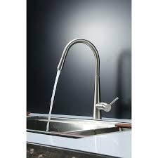 stainless steel kitchen faucet with pull down spray stainless