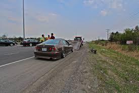 lexus is 250 ottawa sq tow ottawa man u0027s lexus back to ontario because of stretched tires