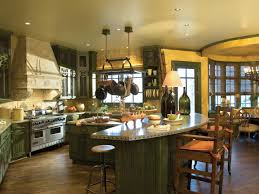 kitchens with bars and islands kitchen island with stools hgtv