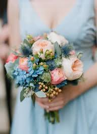 blue wedding bouquets blue wedding flower brides collection picmia