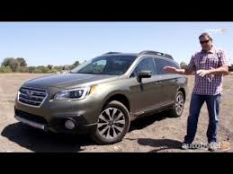 2016 subaru outback 2 5i limited 2015 subaru outback 2 5i limited test drive video review youtube