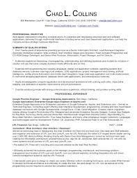 Resume Writer San Diego Chad Collins Professional Resume