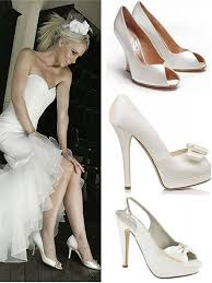 Wedding Shoes Off White Style Guide Bridal Footwear The Wedding Secret Magazine