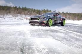 frozen mustang vaughn gittin jr shows off his 2015 mustang racer