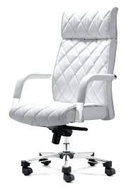 leather desk chair no arms white leather desk chair white leather office chair white leather