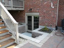 new basement entry door how to design a basement entry door