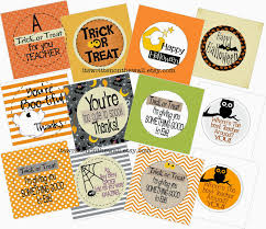 it u0027s written on the wall seriously cute halloween treat tags for