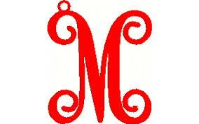 metal boutiques letter ornaments initial ornaments metal letter