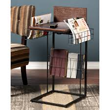 side table with power outlet porten sofa side table w power usb living room shop