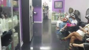 busy saturday at divine escape salon u0026 spa youtube