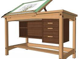 Drafting Table And Desk 1935 Hamilton Adjustable Drafting Architect Or Artist Desk