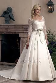 robe de mariã e hiver robe de mariée hiver couvert de dentelle manche aérienne longueur