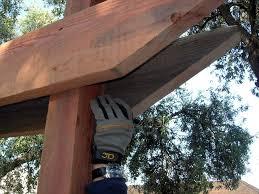 how to build a redwood arbor how tos diy