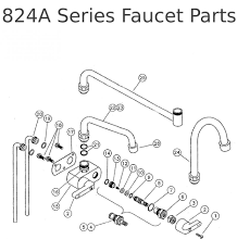 21996lf Ss by Bronze Wall Mount Kitchen Faucet Replacement Parts Two Handle Pull