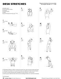 Office Desk Workout by Fitness Tips U2014 Shelter Publications