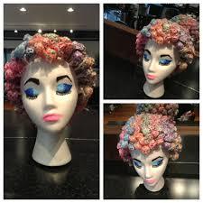 halloween salon background diy flapper mannequin hat stand mannequin heads paper mache and
