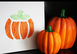 simple fall craft for kids construction paper candy corn collages