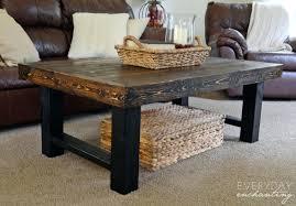 Rustic Coffee Table Legs Pretty Diy Rustic Coffee Table Tables Mesmerizing Industrial Plans