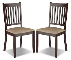 Atwoods Outdoor Furniture - atwood dining chair with microfibre seat set of 2 u2013 beige the brick