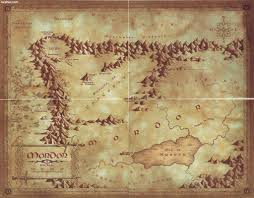 Lord Of The Rings Map Gc61235 Lord Of The Rings V Mordor Unknown Cache In