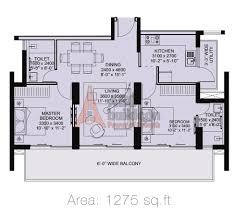 2 Bhk Floor Plans 2 Bhk Ild Arete Floor Plan Archives Floorplan In