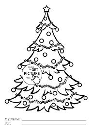 christmas tree coloring sheets kids cheminee website