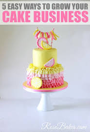 best 25 cake business ideas on pinterest home bakery business