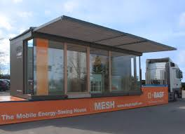 energy saving house the basf mobile energy saving house on tour in europe