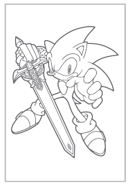 sonic hedgehog coloring pages coloringsuite
