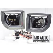 led fog light kit mb auto putco led fog light kit 2015 2017 gmc sierra 2500