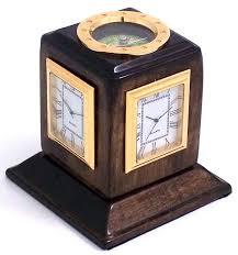 Home Accessories And Decor Amazon Com Bey Berk International Three Time Zone Revolving Desk