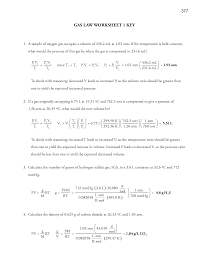 Charles Worksheet Answer Key 14 Best Images Of Charles Worksheet Answer Key Combined Gas