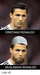 Cristiano Ronaldo Meme - cristiano ronaldo muslimano ronaldo lolol xd cristiano ronaldo