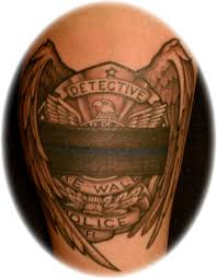 dave tatoos topic tattoo designs for police officer