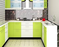 U Shaped Kerala Kitchen Designs Moduler Kitchen Great Home Design