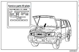 repair manuals isuzu trooper 1998 2002 workshop manual