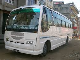nepal new land rover tourist bus service in nepal