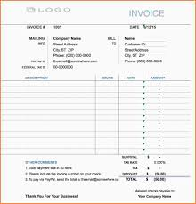 Hourly Service Invoice Template by 7 Hourly Invoice Template Samples Of Invoices