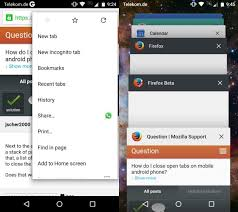 chrome for android how to open tabs in chrome for android 5 0 and higher
