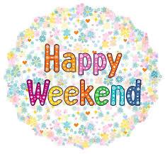 happy weekend decorative lettering text t shirt bag design