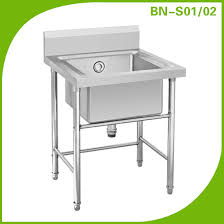 Stainless Steel Sinks Sink Benches Commercial Kitchen Industrial Stainless Steel Sinks Suppliers Befon For