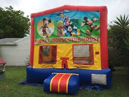 mickey mouse clubhouse bounce house bounce houses castles bounce house south florida bounce