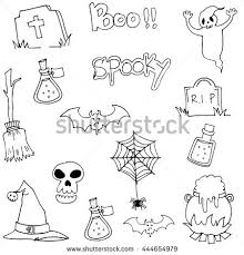 halloween character ghost vector art hand stock vector 438080176