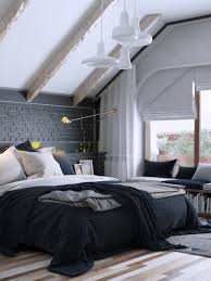 6 creative bedrooms with artwork and diverse textures deep texture is another important element the black wall in the background maintains a high contrast between the matte brick and the charcoal mortar both