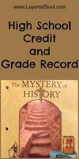 high school history book the mystery of history high school credit